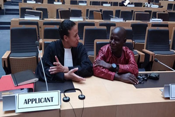 African Court In Favour Of Burkina Faso Journalist