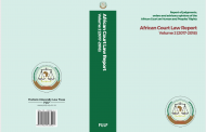 African Court Law Report Volume 2 (2017-2018)