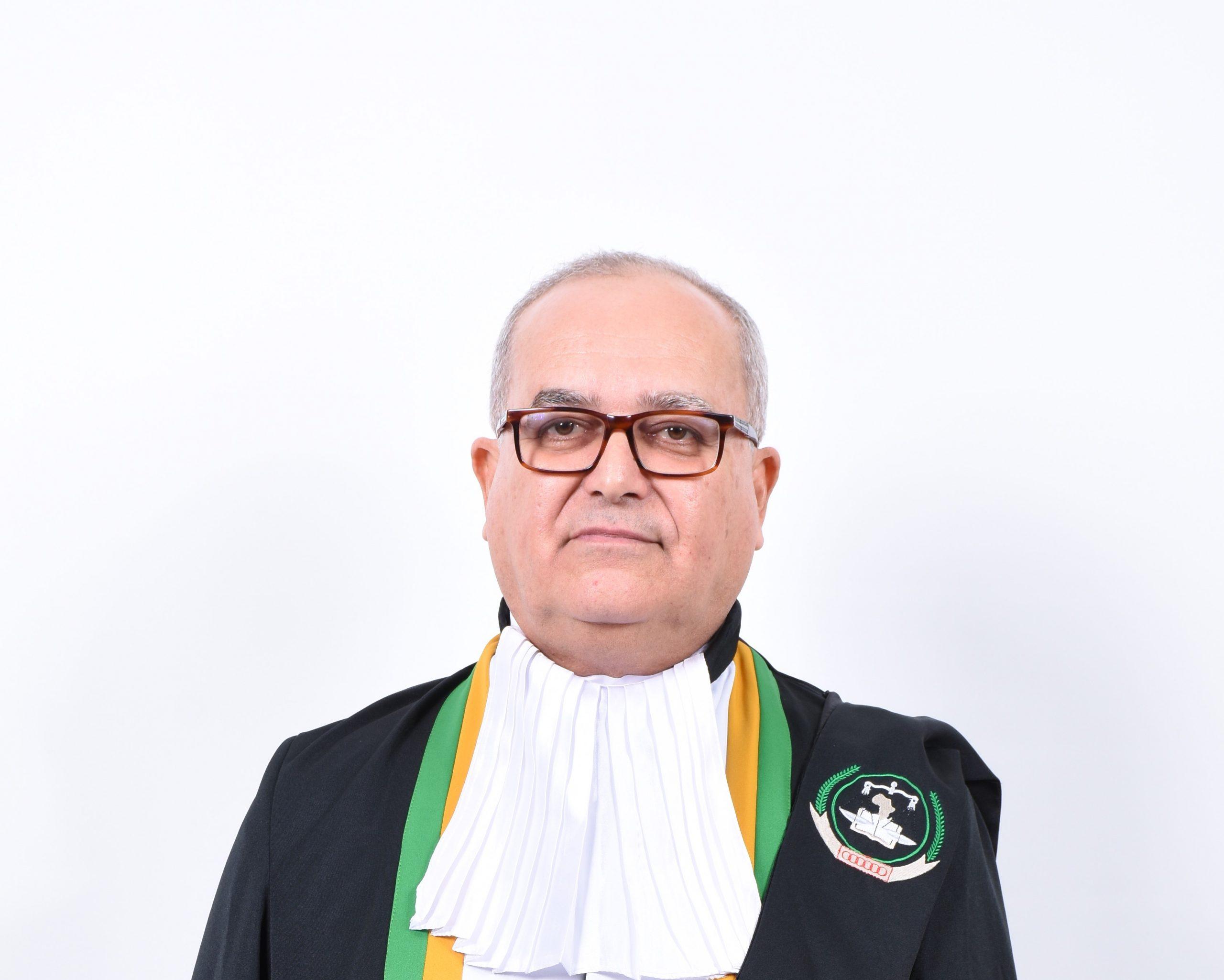 L'Honorable Juge  Rafaâ Ben Achour - Tunisie