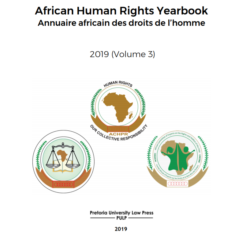 African Human Rights Yearbook 2019 Volume 3