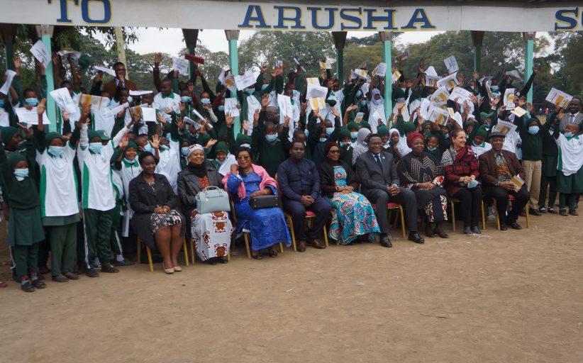 TRIBUNAL AFRICANO ASSINALA O DIA DA CRIANÇA AFRICANA EM ARUSHA