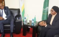 NAMIBIA HIGH COMMISSIONER VISITS THE AFRICAN COURT
