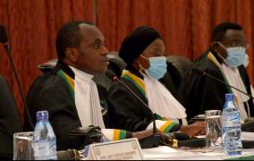 61EME SESSION ORDINAIRE DE LA COUR AFRICAINE  - DISCOURS D'OUVERTURE DU JUGE SYLVAIN ORE, PRESIDENT DE LA COUR AFRICAINE A L'OCCASION DE LA CEREMONIE DE PRESTATION DE SERMENT DE DEUX JUGES
