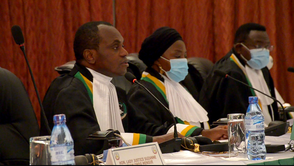 61ST ORDINARY SESSION OF THE AFRICAN COURT ON HUMAN AND PEOPLES' RIGHTS: OPENING REMARKS BY HON. JUSTICE SYLVAIN ORÉ, PRESIDENT OF THE COURT ON THE SWEARING-IN OF TWO JUDGES