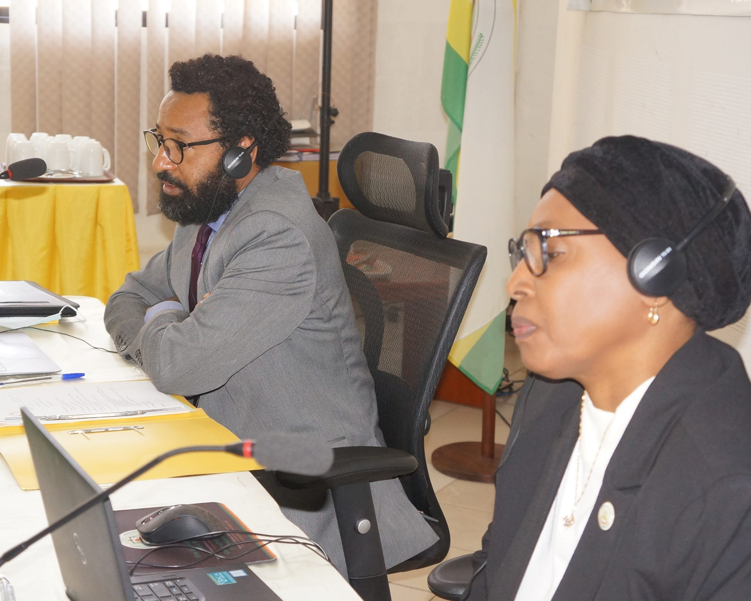 THE AFRICAN COURT ON HUMAN AND PEOPLES' RIGHTS AND THE AFRICAN COMMISSION ON HUMAN AND PEOPLES' RIGHTS MEET IN ARUSHA